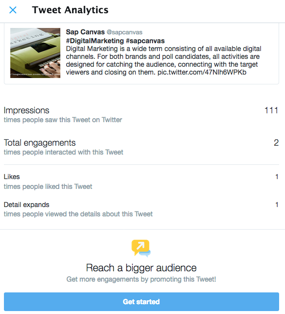 4 - Get started with Twitter: Tweet Analytics